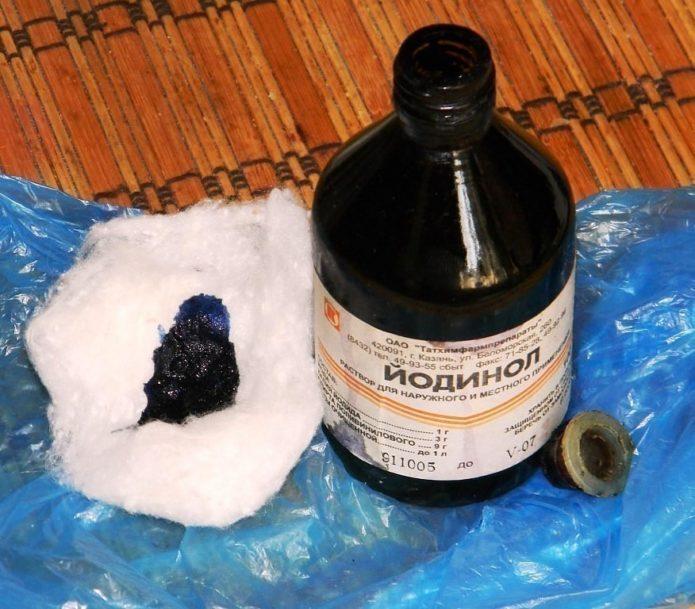 Dozarea iodinolului